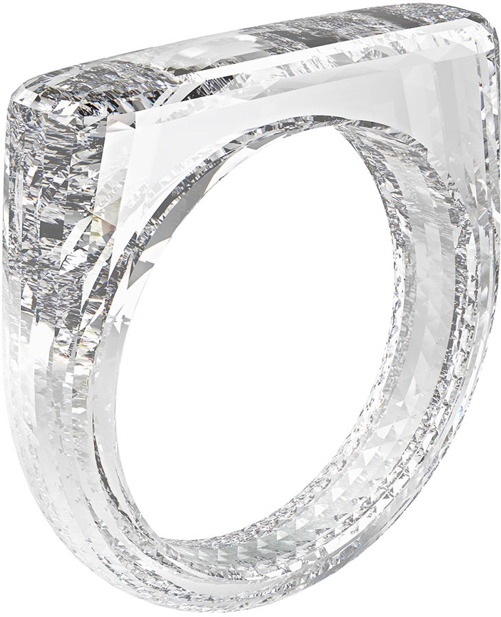 """Джони Айв и Марк Ньюсон создали бриллиантовое кольцо за $250 тыс. — конечно, «безрамочное»"""""""