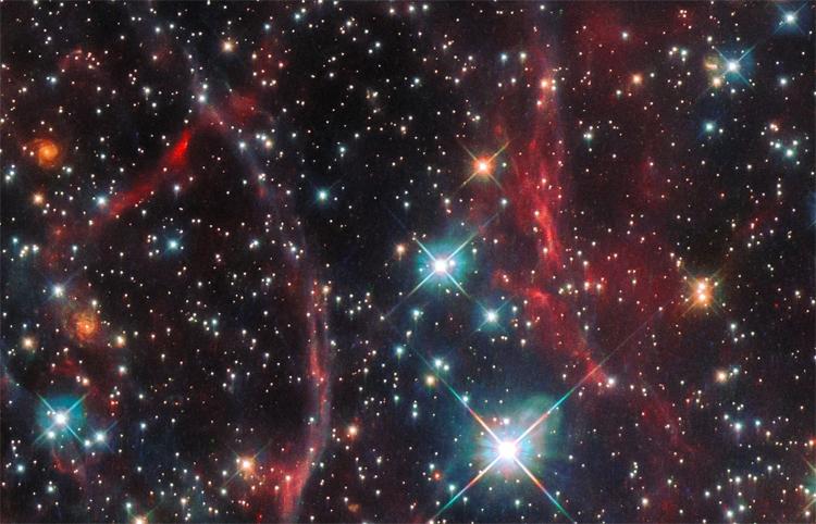 """Фото дня: остаток сверхновой в Большом Магеллановом Облаке"""""""