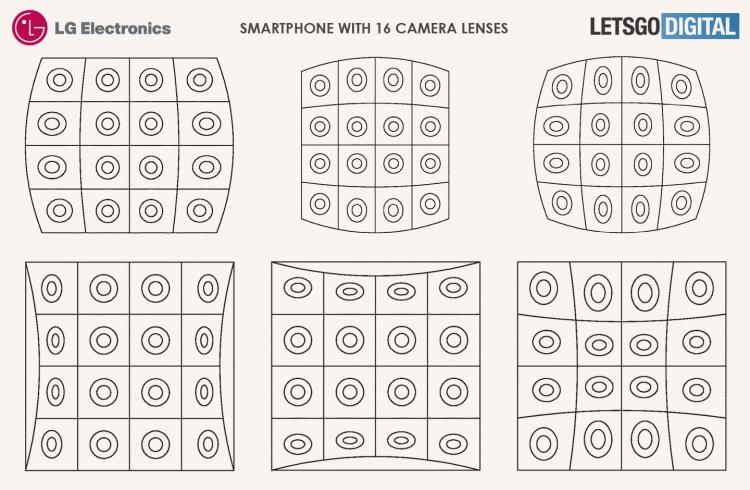 "LG запатентовала 16-камерный смартфон"""