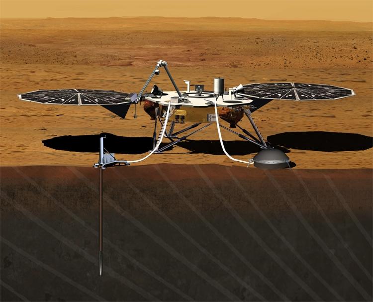 "Зонд NASA InSight успешно совершил посадку на Марсе"""