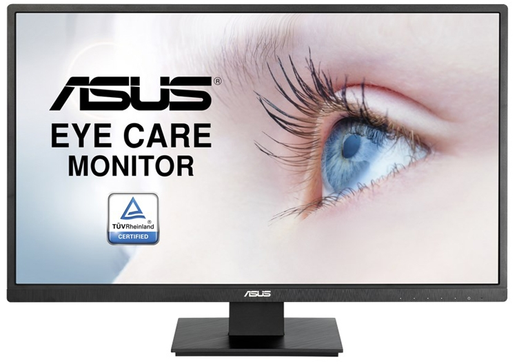 Монитор ASUS VA279HAE Eye Care позаботится о зрении пользователя""