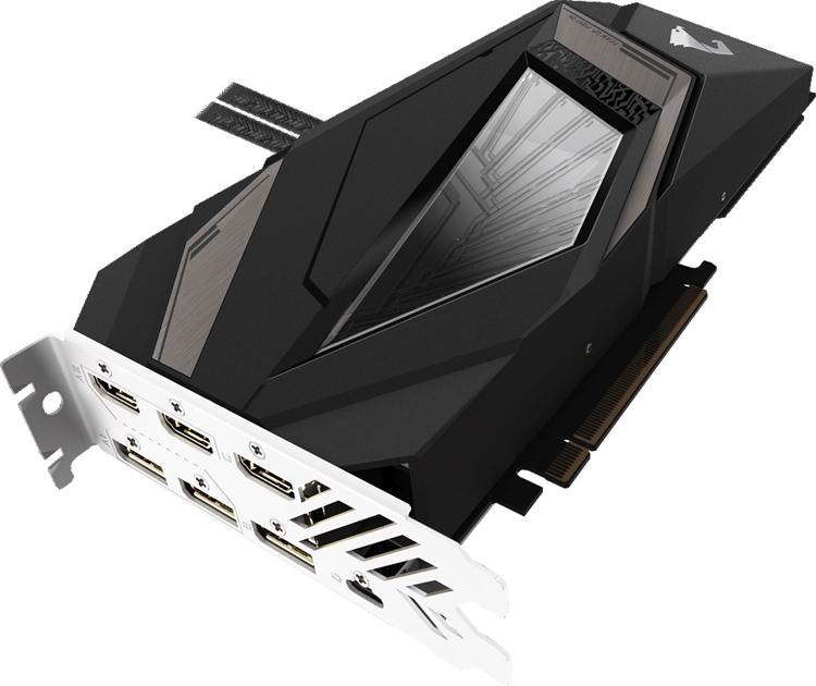 """Aorus GeForce RTX 2080 Ti Xtreme WaterForce: мощная видеокарта с подсветкой RGB Fusion"""""""