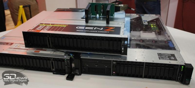 Gen-Z: общий модуль RAM для двух серверов