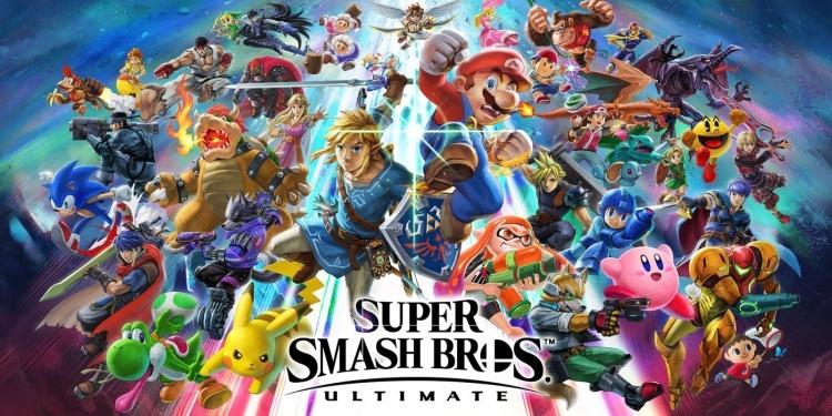 """Видео: Марио провоцирует бои между персонажами Super Smash Bros. Ultimate"""""""