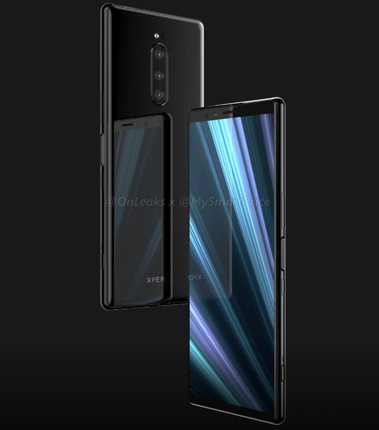 """Качественные рендеры раскрывают особенности дизайна смартфона Sony Xperia XZ4"""""""