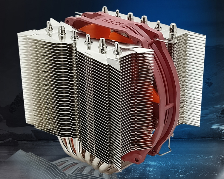 "Thermalright Silver Arrow 130: кулер башенного типа для чипов AMD и Intel"""