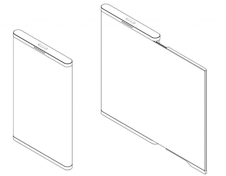 """В LG предложен дизайн смартфона с гибким «безграничным» дисплеем"""""""