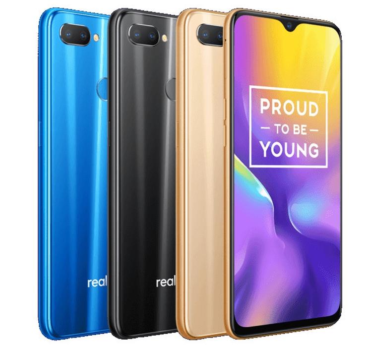 """Смартфон Realme U1 получил каплевидный экранный вырез с 25-Мп селфи-камерой"""""""