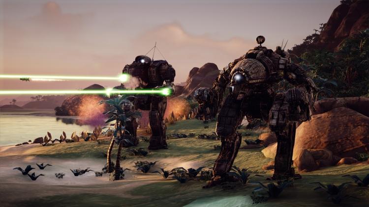 """Трейлер к запуску Flashpoint, первого дополнения к пошаговой тактике Battletech"""""""