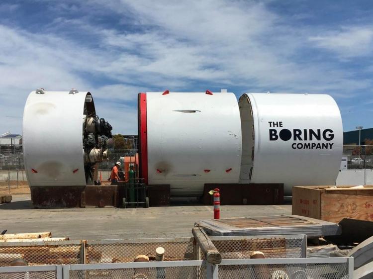 """Компания Илона Маска отказалась от планов по прокладке тоннеля под Лос-Анджелесом"""""""