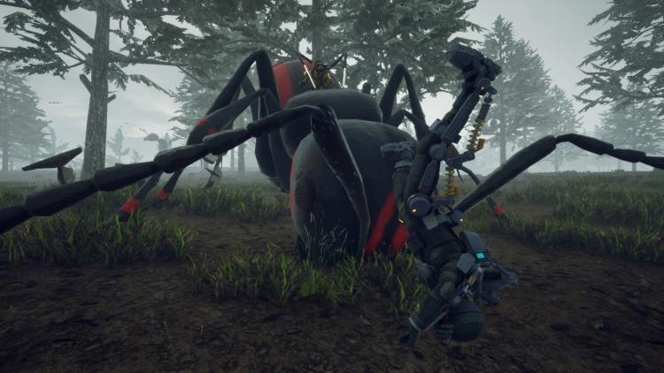 """Гигантские муравьи, рейдовые корабли и другие подробности мира Earth Defense Force: Iron Rain"""""""