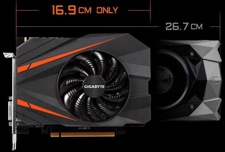Gigabyte GeForce GTX 1070 Mini ITX в сравнении с GeForce GTX 1070 FE