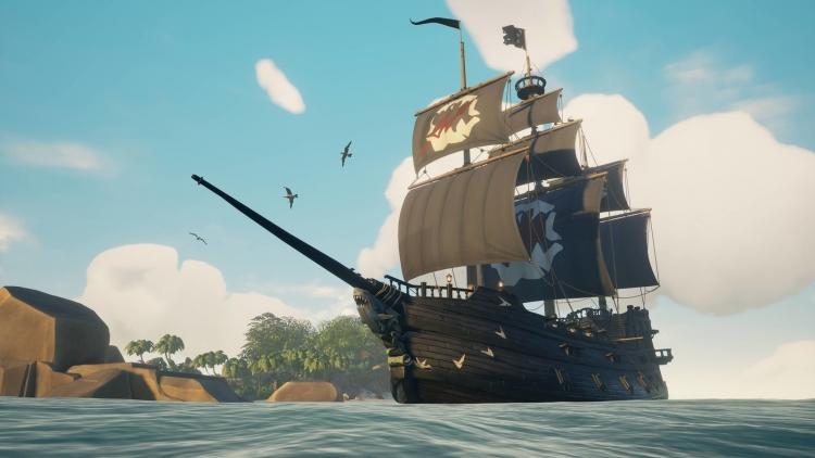 """Бесплатное обновление Sea of Thieves: туман, кастомизация судна и множество врагов"""""""