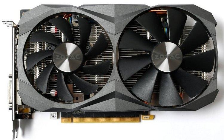 """Zotac GeForce GTX 1060 AMP Edition GDDR5X получила более быструю память"""""""