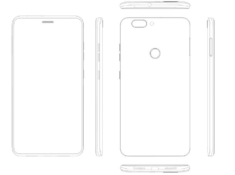 """Смартфоны ZTE могут получить экран с отверстием для динамика"""""""