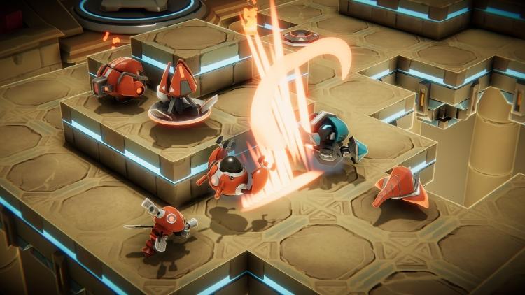 """Анонс Clatter— тактики с мультяшными роботами от создателей Rust"""""""