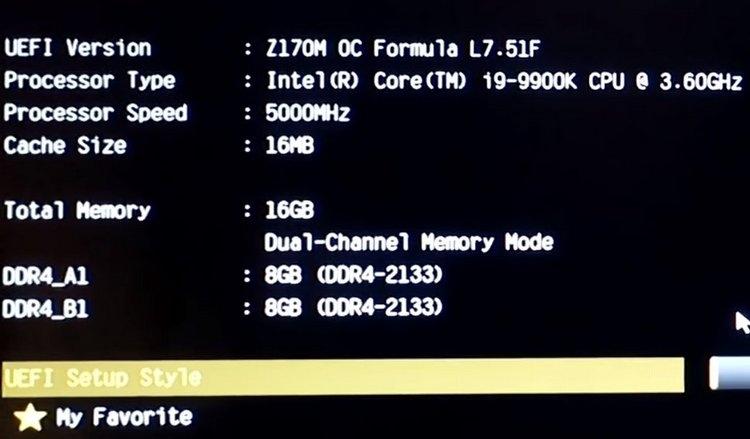 "Intel Core i9-9900K удалось разогнать до 5,5 ГГц на плате с чипсетом Intel Z170"""