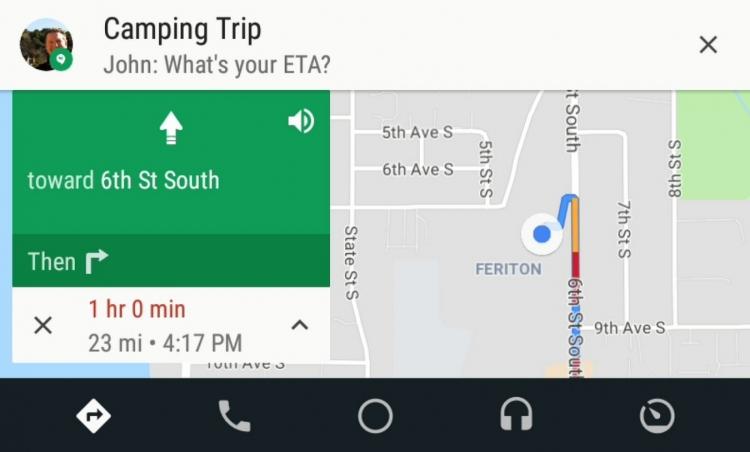 """Google добавила больше опций для медиа и музыки в Android Auto"""""""