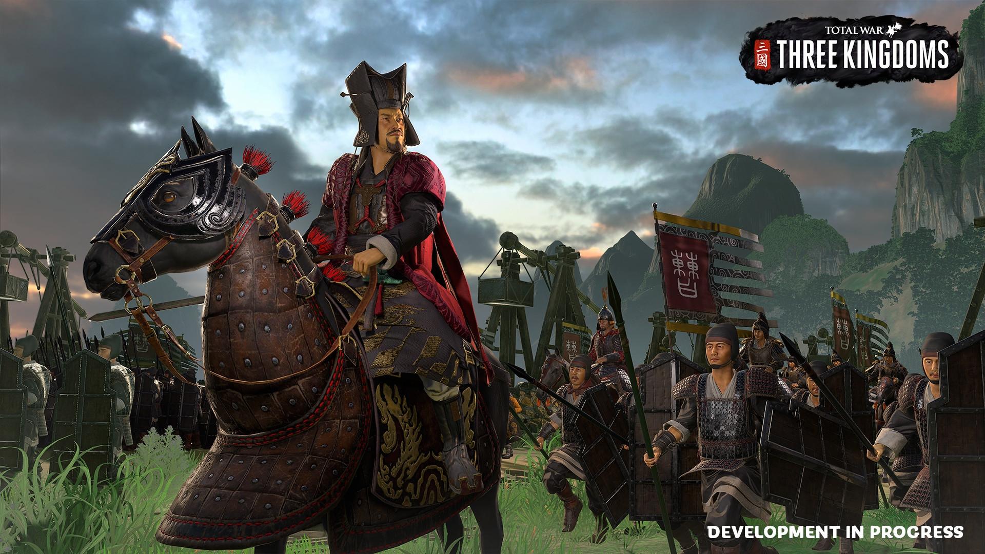 В Total War: Three Kingdoms появится полностью переделанная система дипломатии