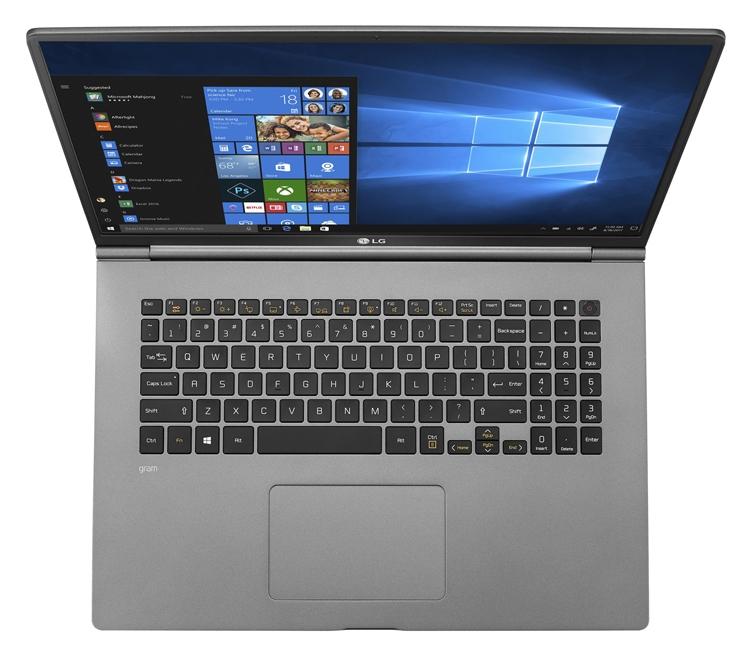 """В семейство ноутбуков LG Gram 2019 войдут трансформер и 17-дюймовый лэптоп"""""""