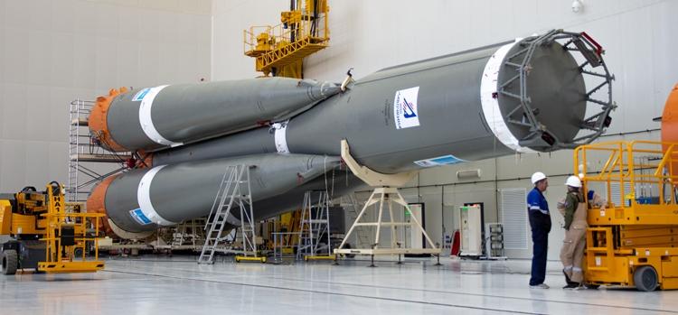 Фото дня: пакет ракеты «Союз-2.1а» для четвёртого пуска с Восточного