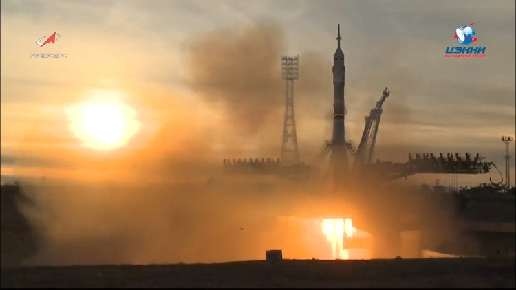 Пилотируемый корабль «Союз МС-11» отправился к МКС