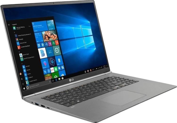 """Толщина ноутбука LG Gram 17 составляет менее 18 мм"""""""
