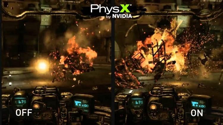 NVIDIA открыла исходный код физического движка PhysX
