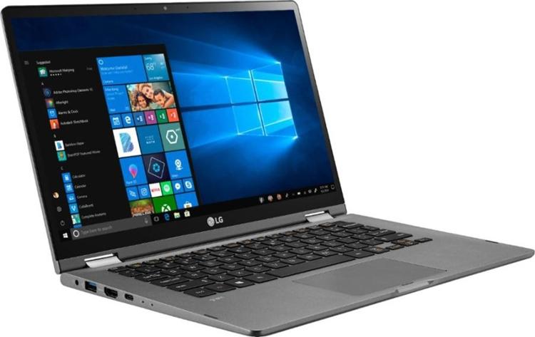 Раскрыты характеристики трансформируемого ноутбука LG Gram