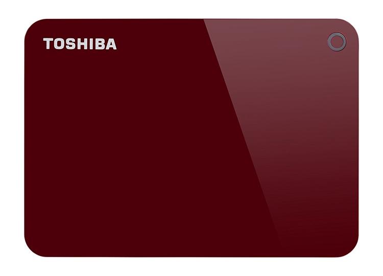 """Новый карманный жёсткий диск Toshiba Canvio вмещает 4 Тбайт данных"""""""