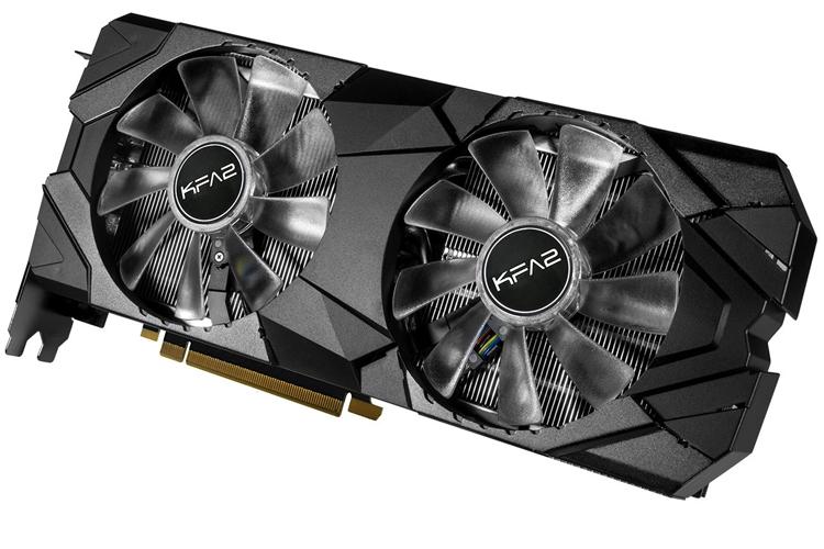 """Видеокарты KFA2 GeForce RTX 2070 EX и EXOC оснащены подсветкой"""""""