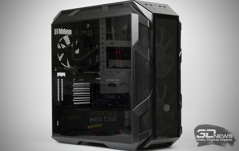 Very nice, king: collect gaming PC with a Core i9-9900K and