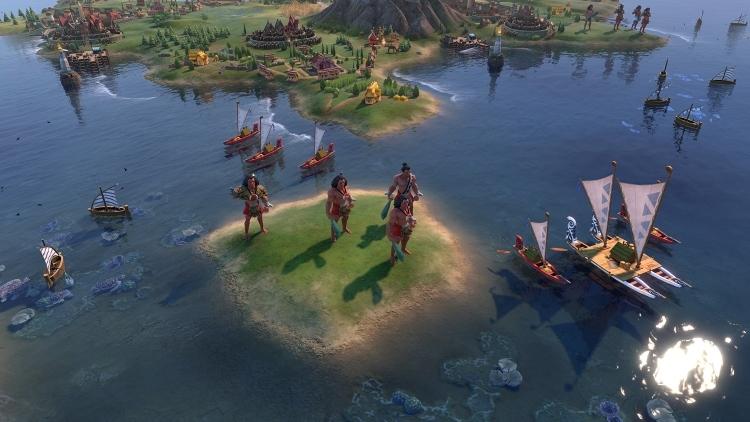 Народ маори покорит моря и океаны в Civilization VI