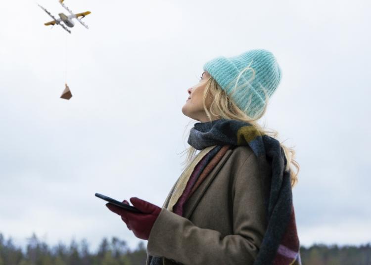 """Wing из Alphabet запустит в Финляндии сервис доставки дронами"""""""