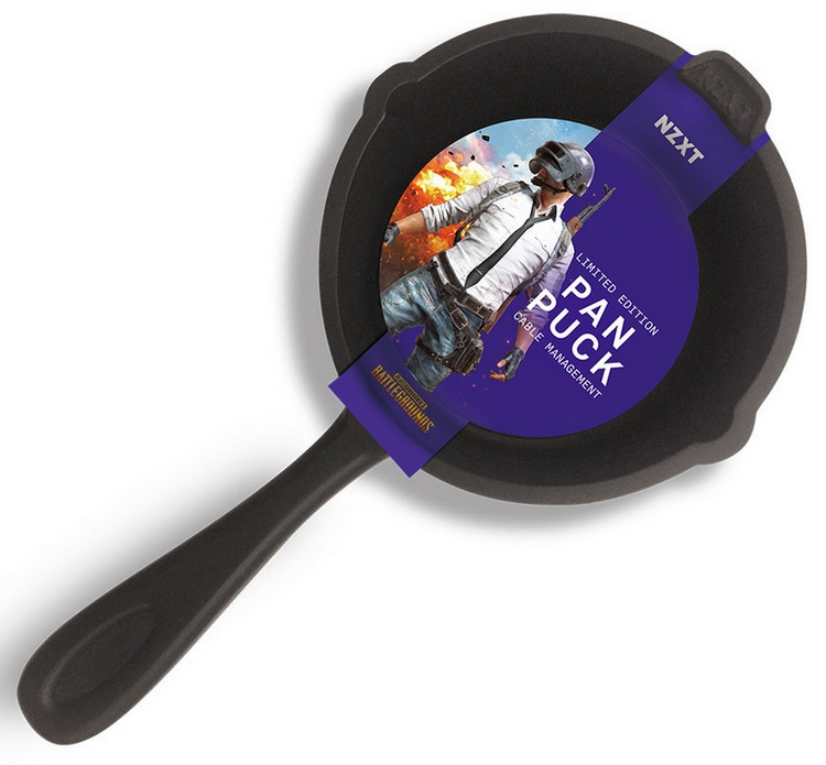 """NZXT Pan Puck: держатель для наушников в форме сковороды из PUBG"""""""