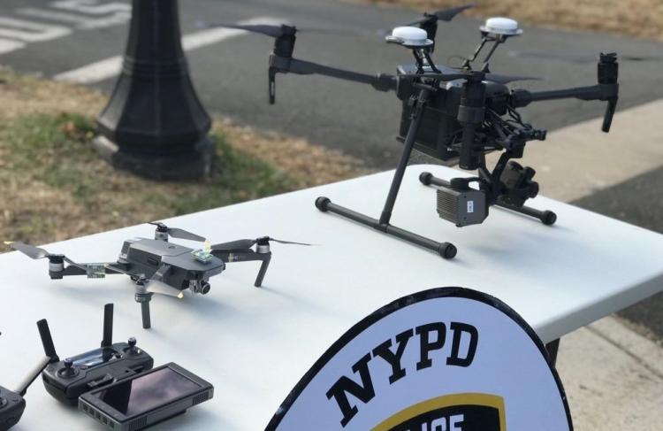 """Полиция Нью-Йорка начала использовать дроны"""""""