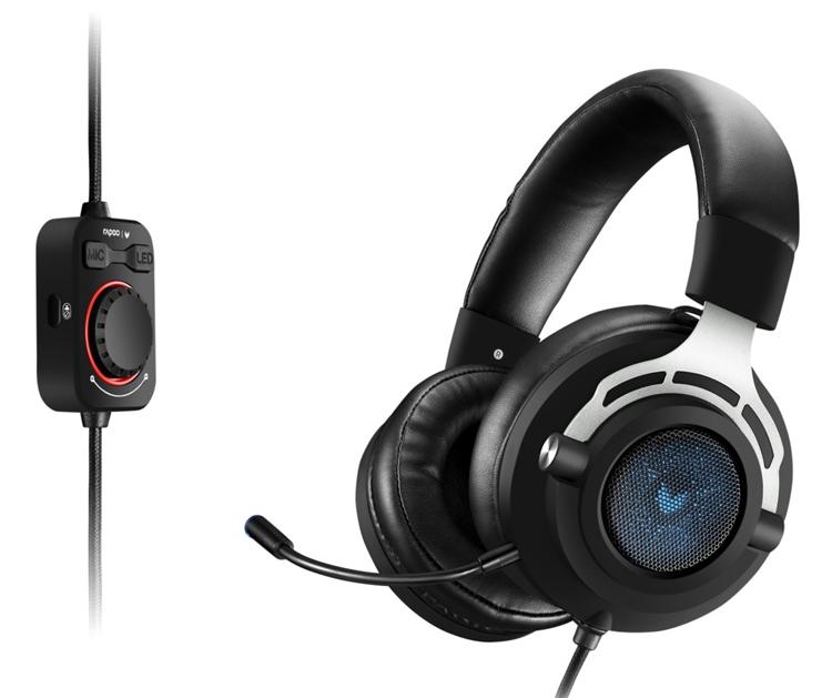 """Игровая гарнитура Rapoo VH300 поддерживает виртуальный звук 7.1"""""""