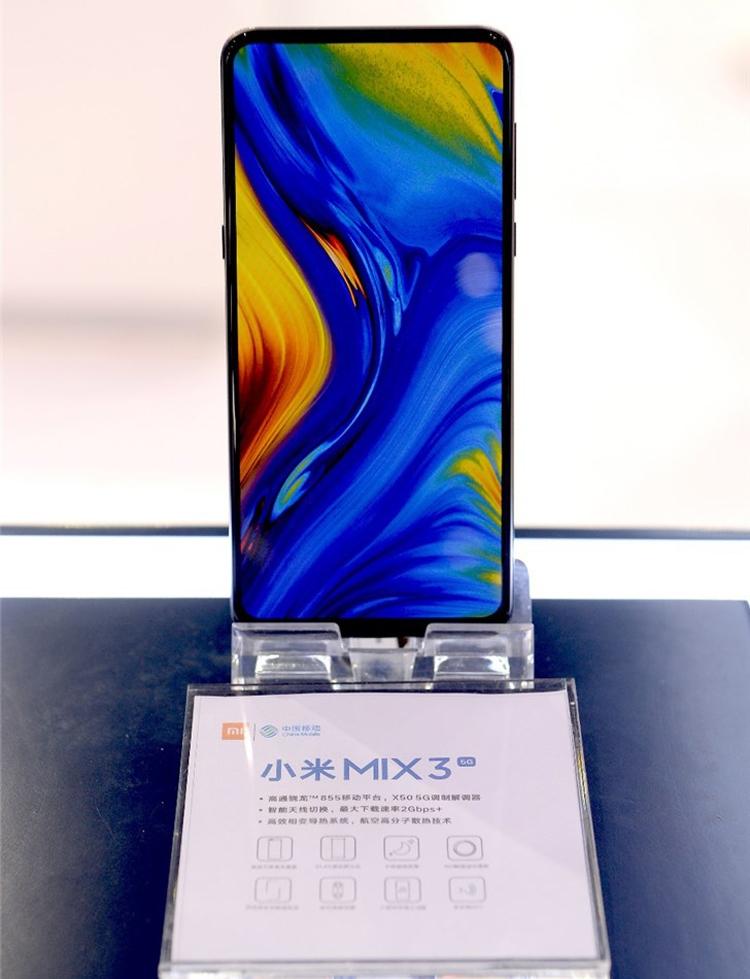 """Смартфон Xiaomi Mi Mix 3 5G получил новейший процессор Snapdragon 855"""""""
