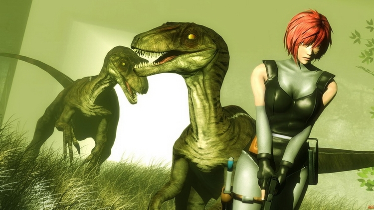 "Фан-арт Dino Crisis от Ариэля Флореса (Ariel ""LoneFireWarrior"" Flores)"