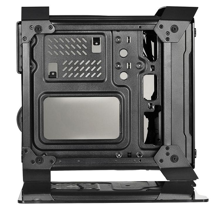 """X2 Spartan 716: корпус с панелями из закалённого стекла для компактного ПК"""""""