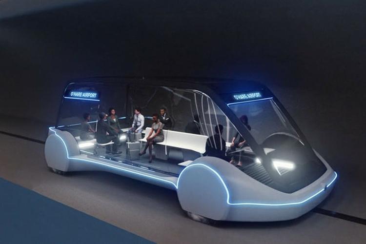 """Boring Company Илона Маска покажет автономные транспортные средства"""""""
