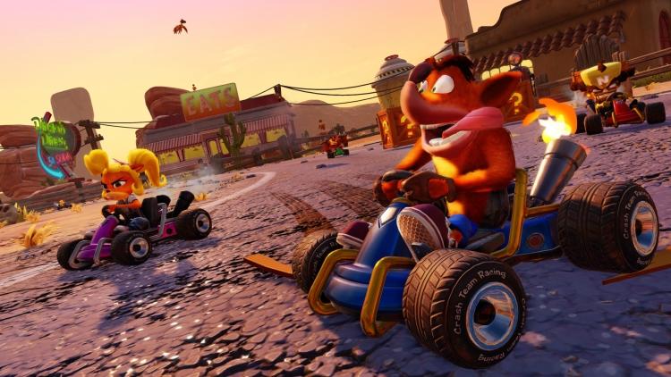"Crash Team Racing Nitro-Fueled официально представлена для PS4, Xbox One и Switch"""