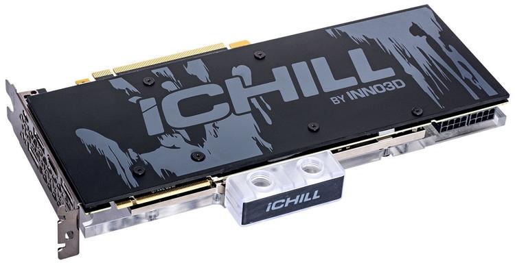 """Inno3D оснастила видеокарты GeForce RTX iChill Frostbite водоблоками полного покрытия"""""""