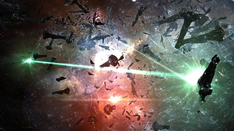 В EVE Online произошла масштабная битва трёх NPC-фракций, которую никто не видел