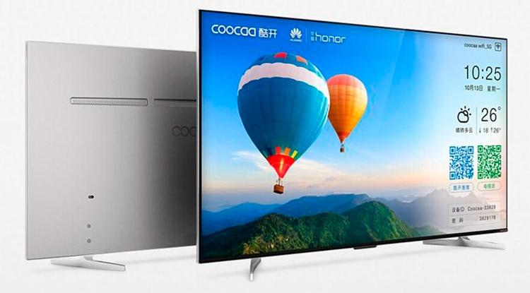 Смарт-телевизор Honor A55 компания Huawei представила ещё в 2014 году