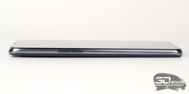 OPPO RX17 Pro, левая грань: две клавиши регулировки громкости/спуска затвора камеры