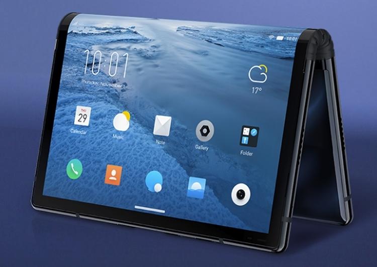 Royole FlexPai: смартфон с гибкой конструкцией