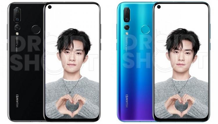 """Качественные изображения раскрыли необычную расцветку Huawei Nova 4"""""""