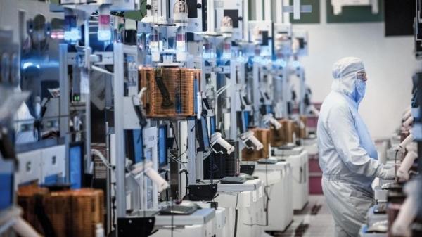 В производственном комлексе Intel