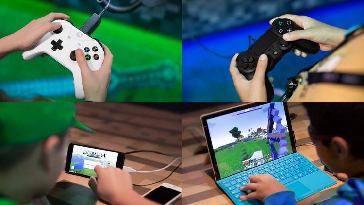 Minecraft как пример межплатформенной игры